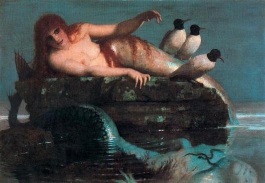 La sirena de Arnold Böcklin